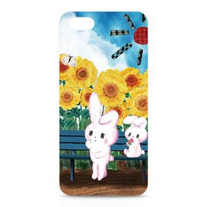 iPhone5ケース 「夏のバス停」 by なおちる