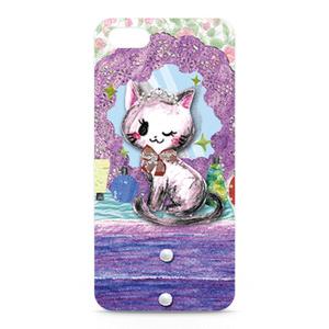 iPhone5ケース 「おしゃれ猫」 by なおちる