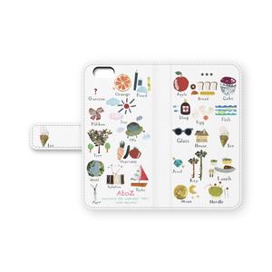iPhoneシリーズ手帳型「AtoZ」byなおちる