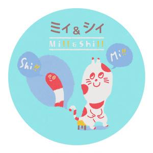 ミィ&シィ(Mi!!&Shi!!)マスキングテープ