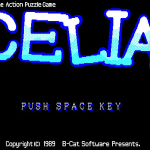CELIA for PC-8801mkIISR #CELIA88