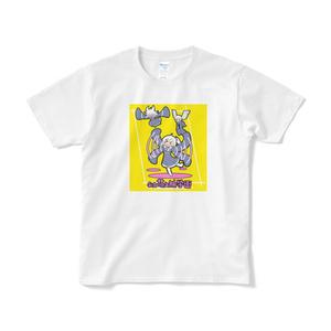 私立萌え袖学園女生徒Tシャツ(黄色)