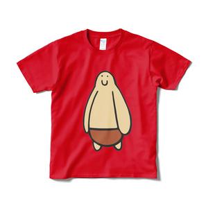 ちからもちのTシャツのレッド