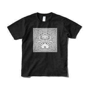 徳が高いTシャツのブラック