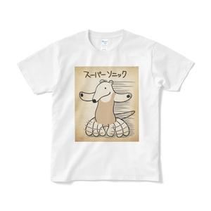 スーパーソニックのTシャツ(白か黒)