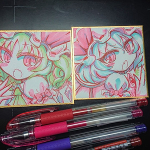 『レミリアフラン』姫色紙二枚セット