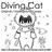 Diving Cat