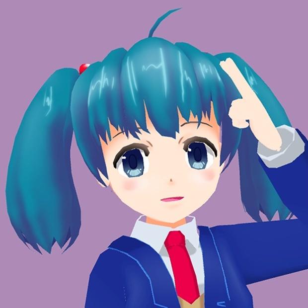 「へすい」アバターモデル - fumi2kick booth - BOOTH