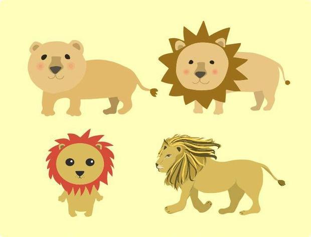 ライオンのベクターイラスト素材 Chicodeza Pixiv Booth Booth