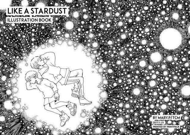 ペン画イラスト本like A Stardust バンバン発行物通販 Booth