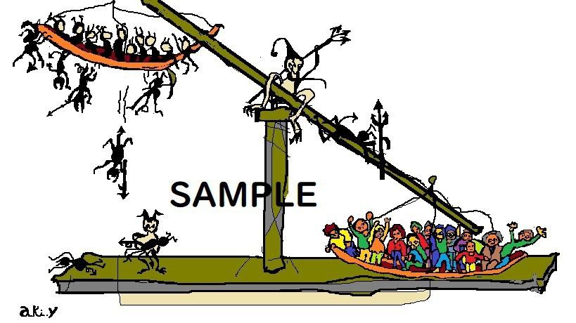 天秤はかり(Balance scale)
