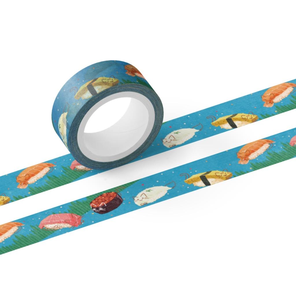 寿司にゃんマスキングテープ2021