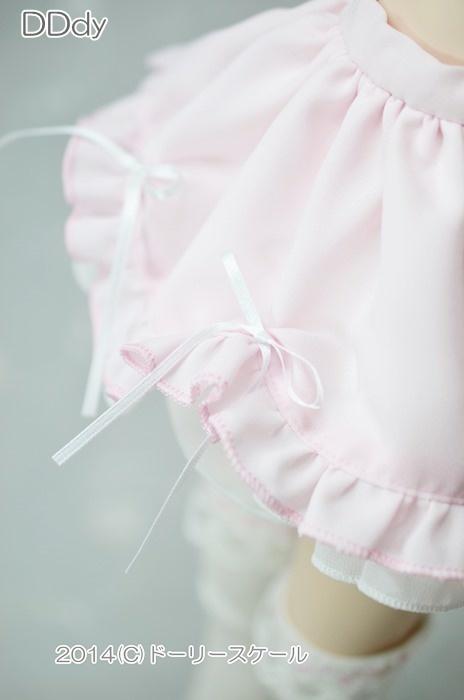 裾スカラップ&フリルスカートの型紙