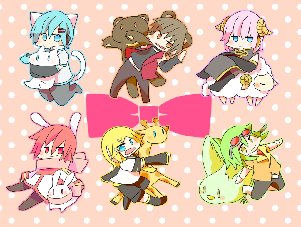Animal vocaloid another boys 【アクリル】