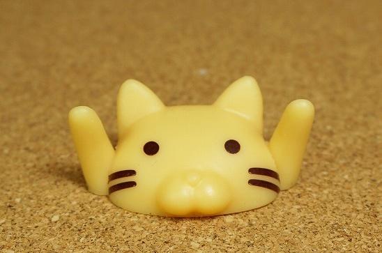 猫顔ペンホルダー
