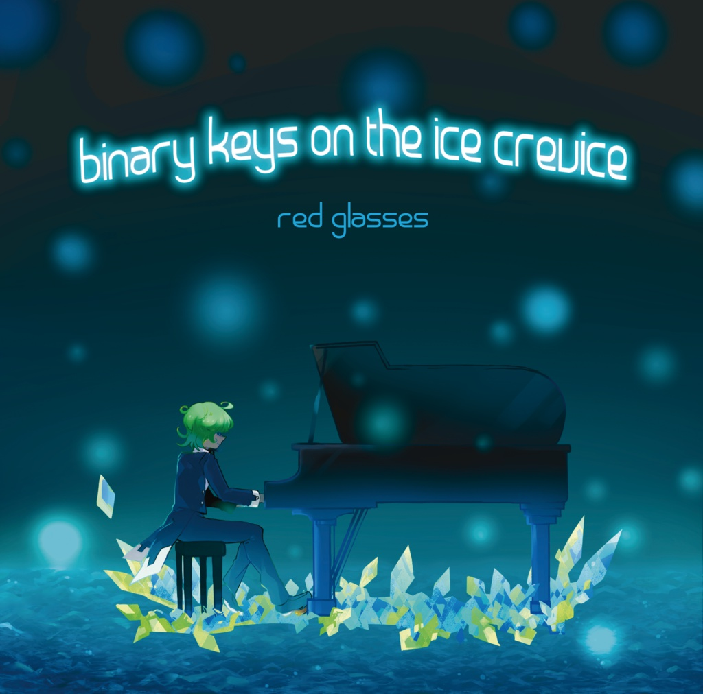binary keys on the ice crevice
