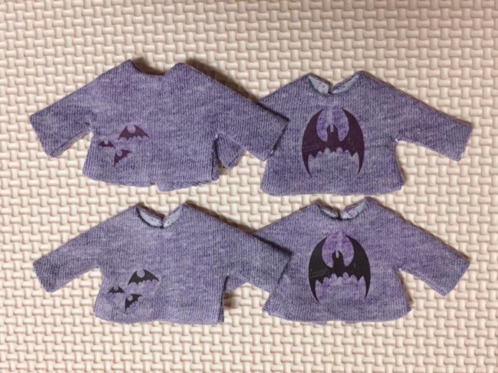 オビツ11 長袖Tシャツ コウモリ