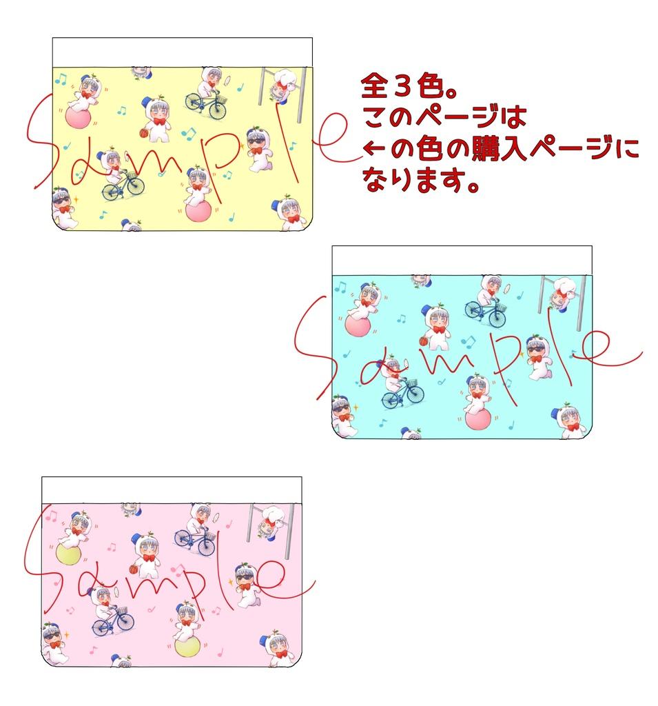 ゆきまゆパスケース(黄色Ver.)