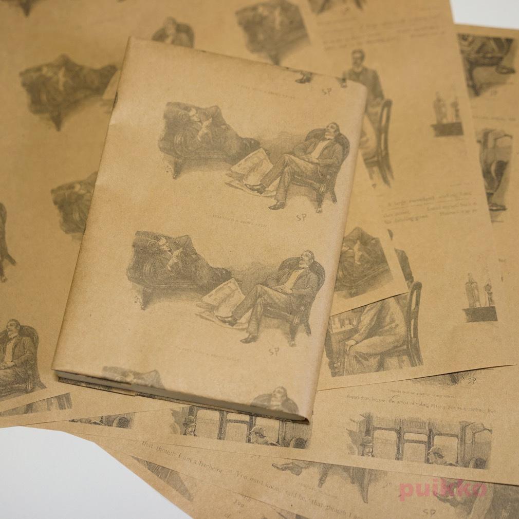 紙製ブックカバー シャーロック・ホームズ2