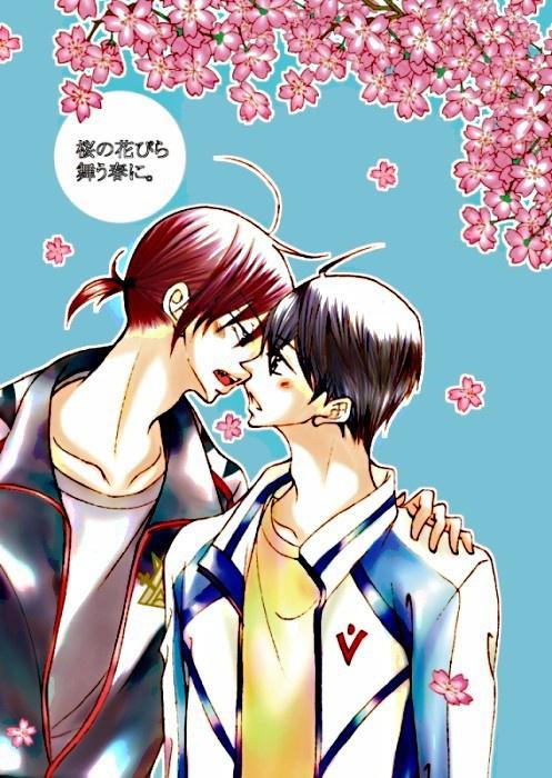 桜の花びら舞う春に。