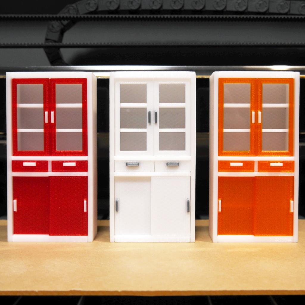 ミニ・食器棚