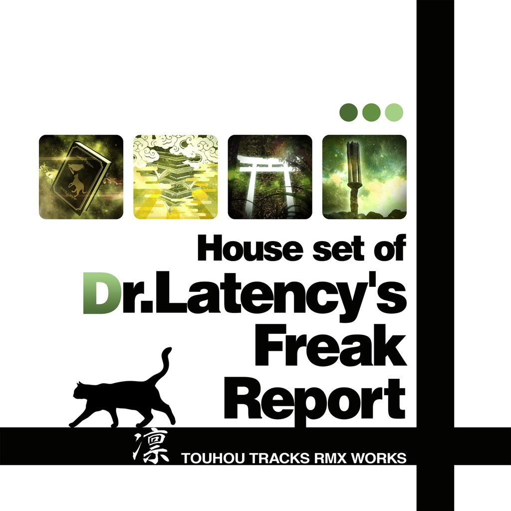 """【DL Free】House set of """"Dr.Latency's Freak Report"""""""