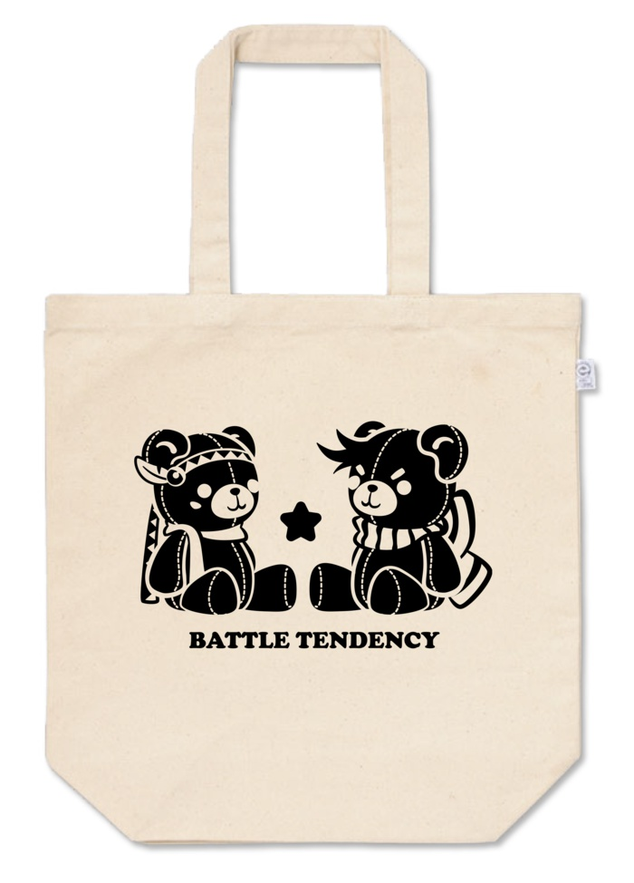 クマ戦士◆トートバッグ