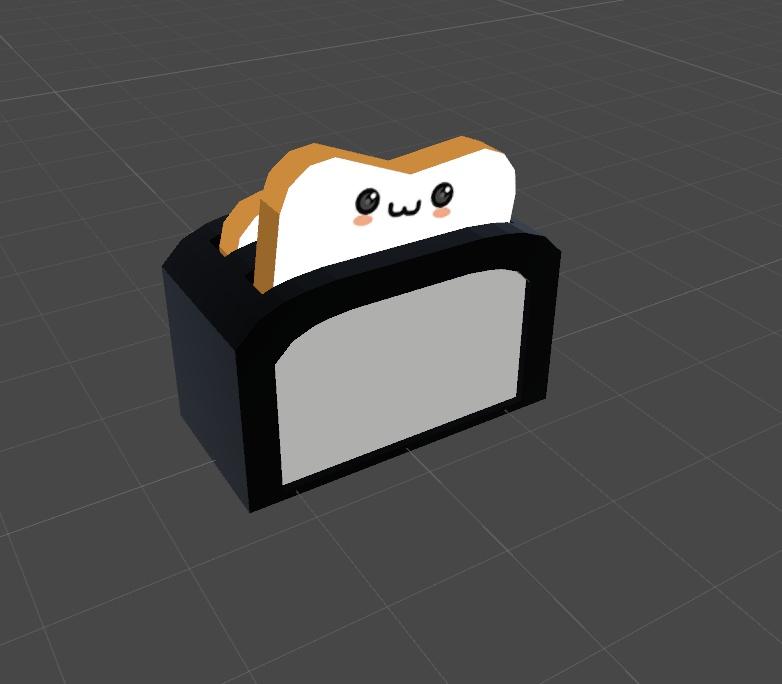 [VRChat想定]トースター
