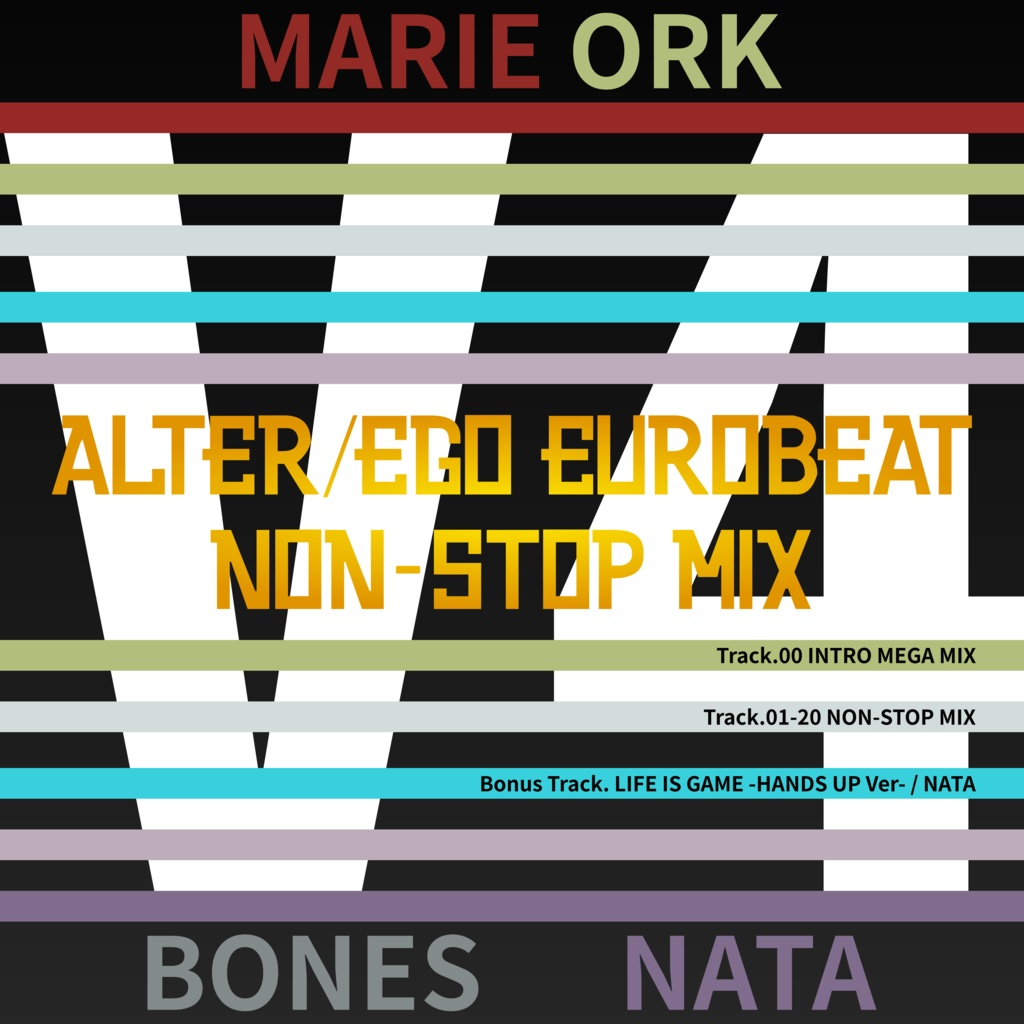 Alter/Ego EUROBEAT VOL 4 NON-STOP MIX - あおやの作業場 - BOOTH