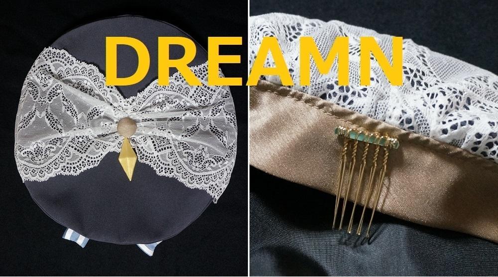 月光の学徒シリーズ Black rabbit ベレー帽 DREAMN&BOYさんコラボ企画
