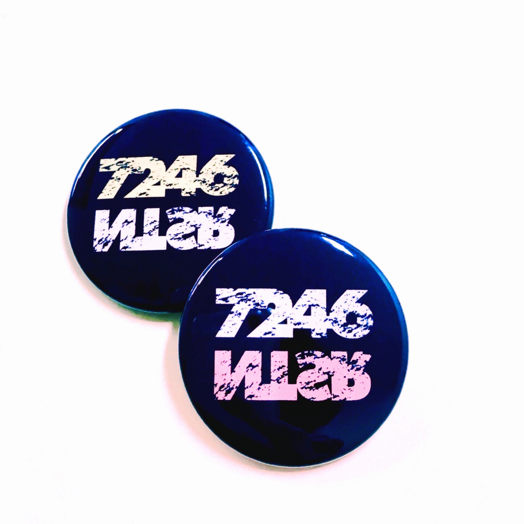 [2個セット]7246缶バッジ