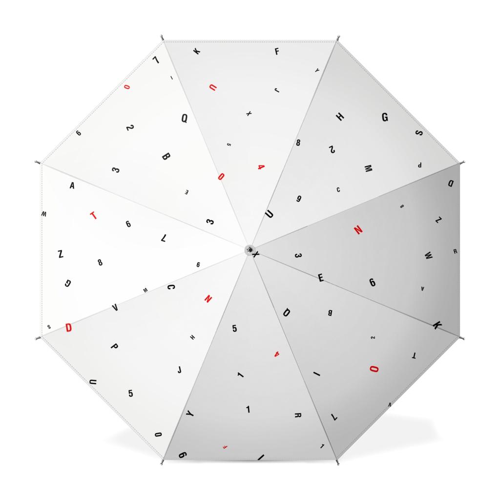 Number umbrella