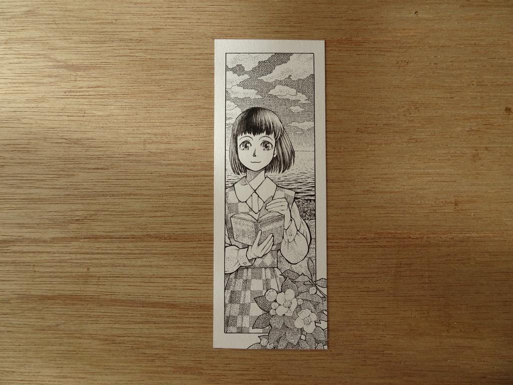 ミニ原画『花と海と草子』