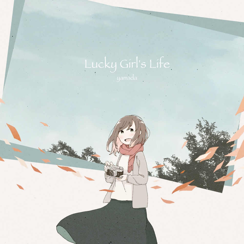 "1st Full Album ""Lucky Girl`s Life"" DL版"