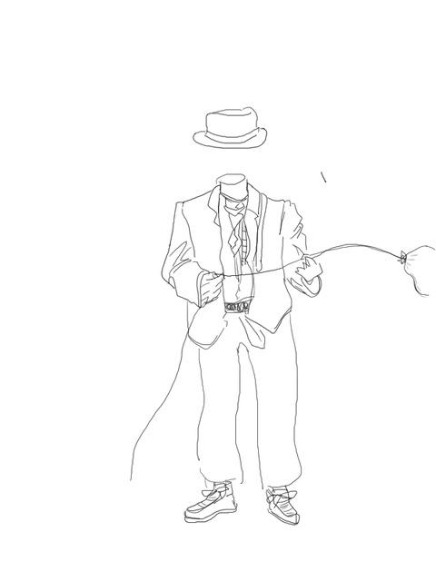 帽子くんと風船