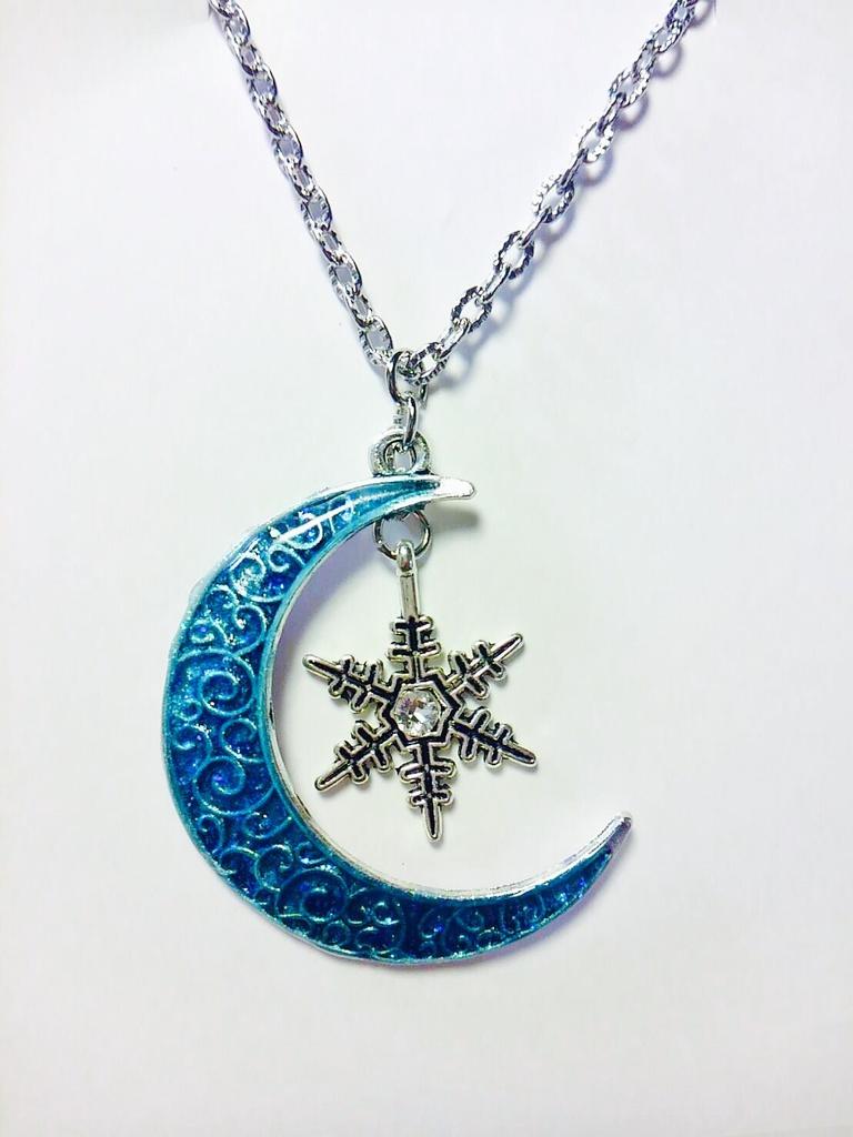 frozen moon 藍色