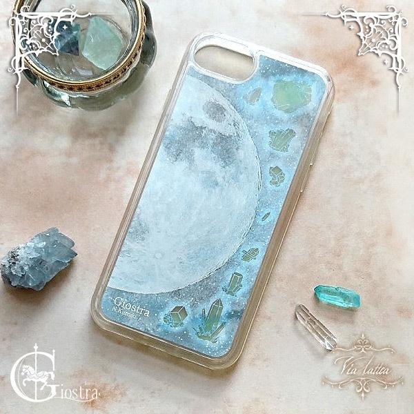 【iPhone】蓄光サンドスマホケース