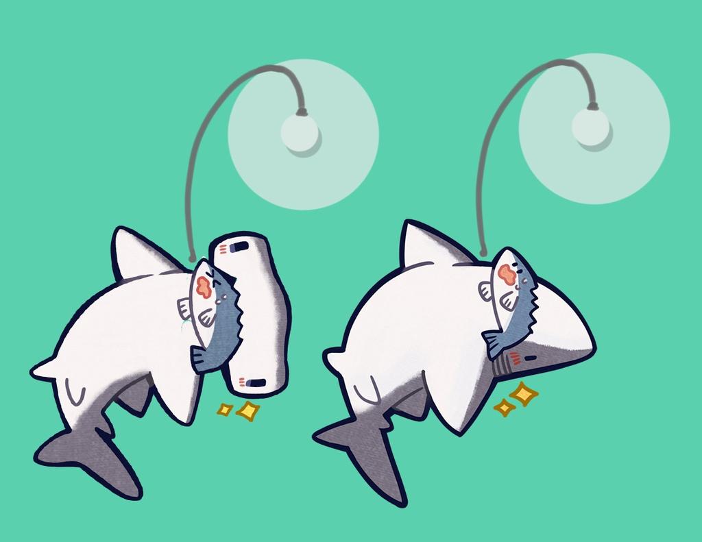 【コミティア122新作グッズ】サメ釣りスウィングクリップ