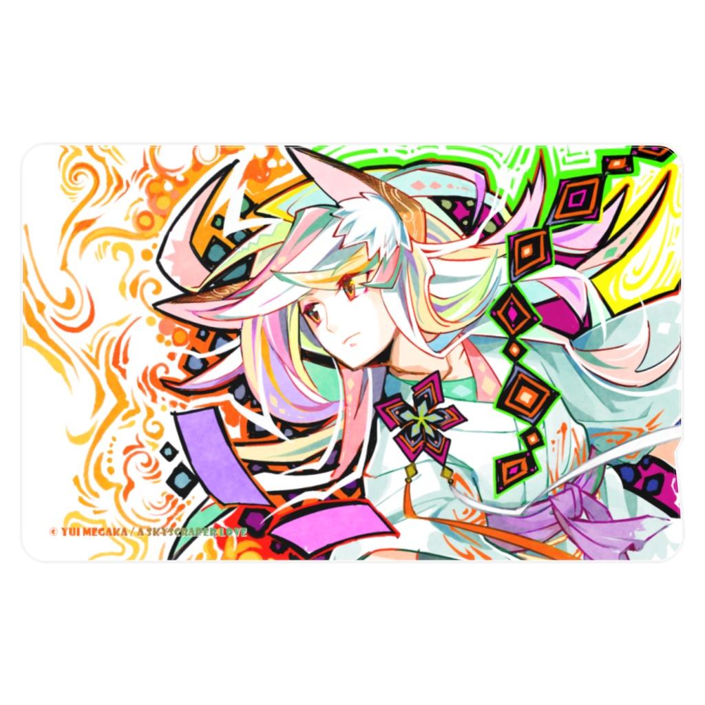 Colorful wishes[オリジナルアート・ICカードステッカー]