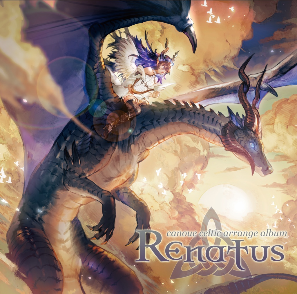 "canoue celtic arrange album ""Renatus"""