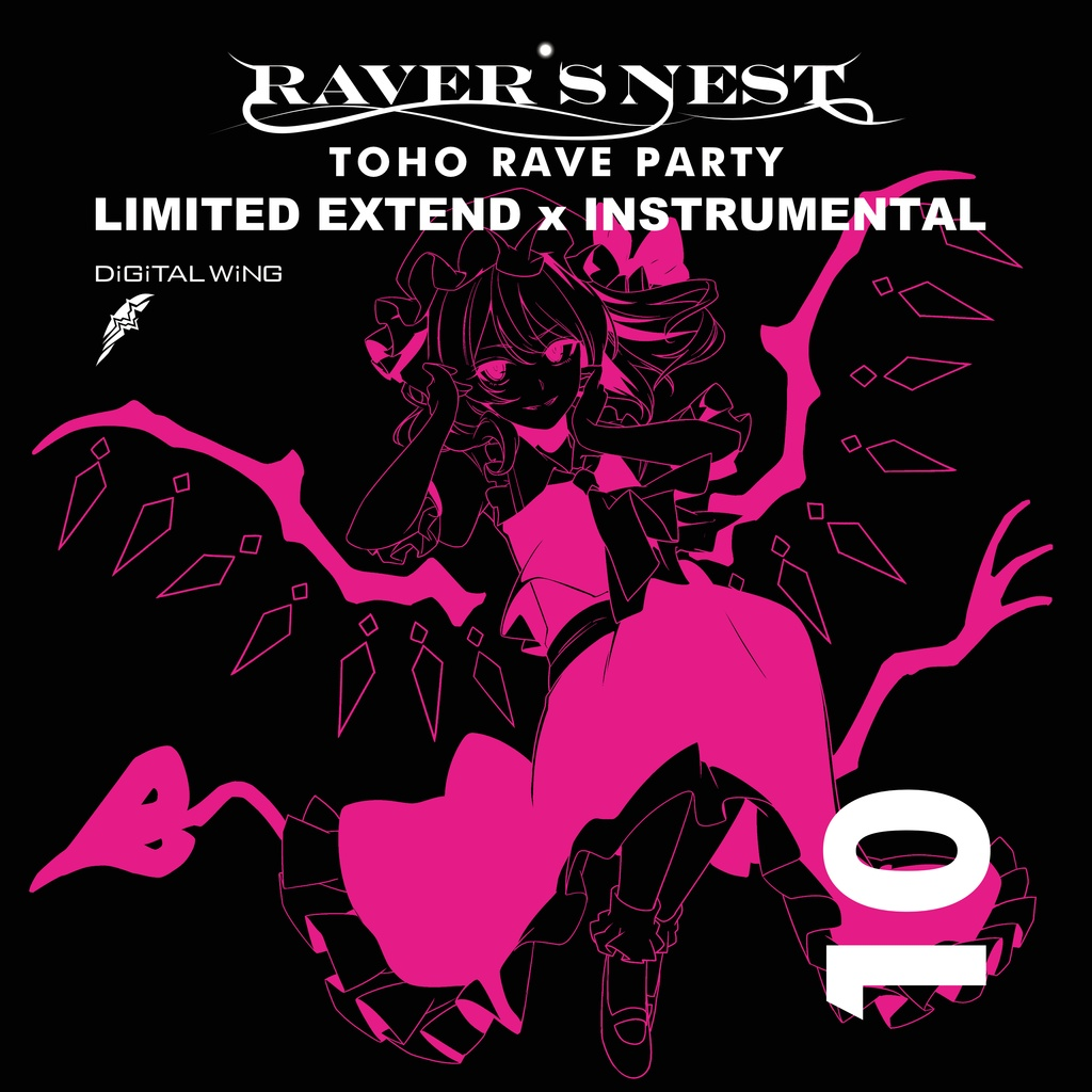 『限定新作』RAVER'S NEST 10 LIMITED EXTENDED×INSTRMENTAL