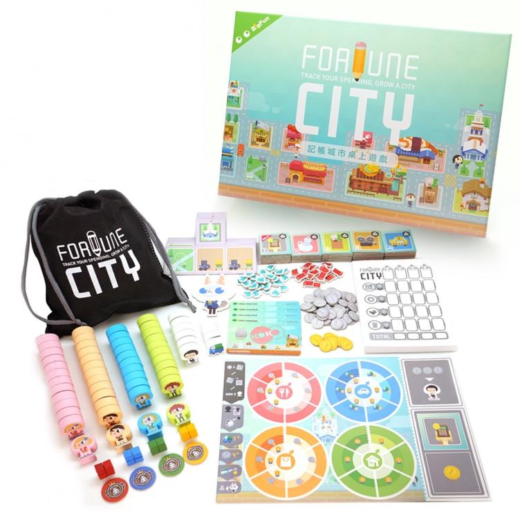 フォーチュンシティ (Fortune City)ボードゲーム