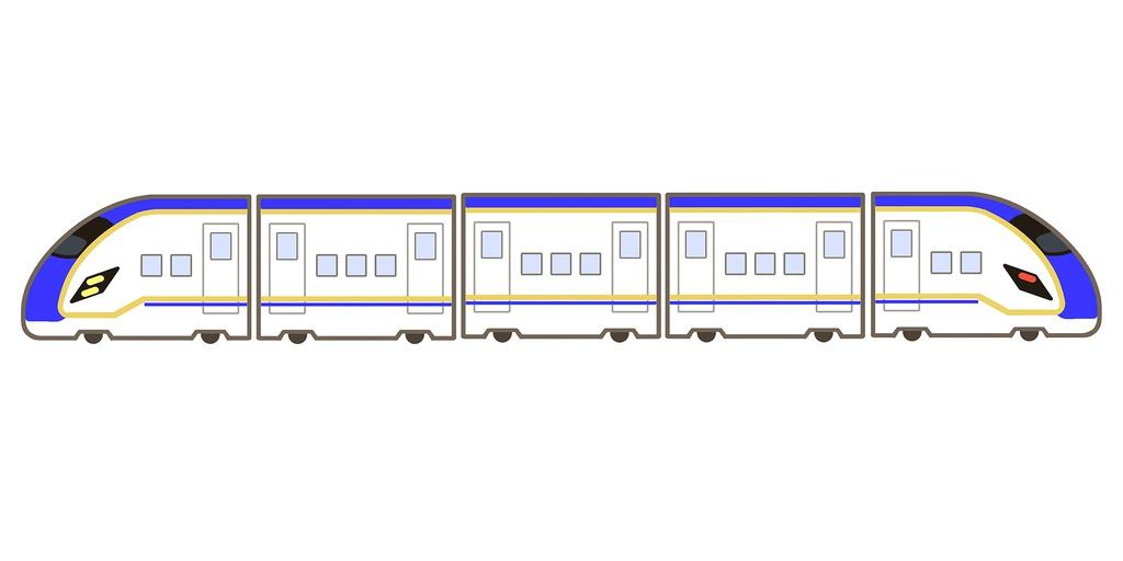 【鉄道】かがやき風マグネット