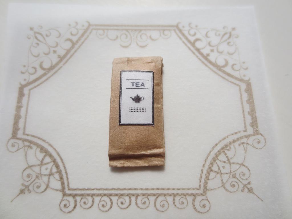 ミニチュア 紅茶