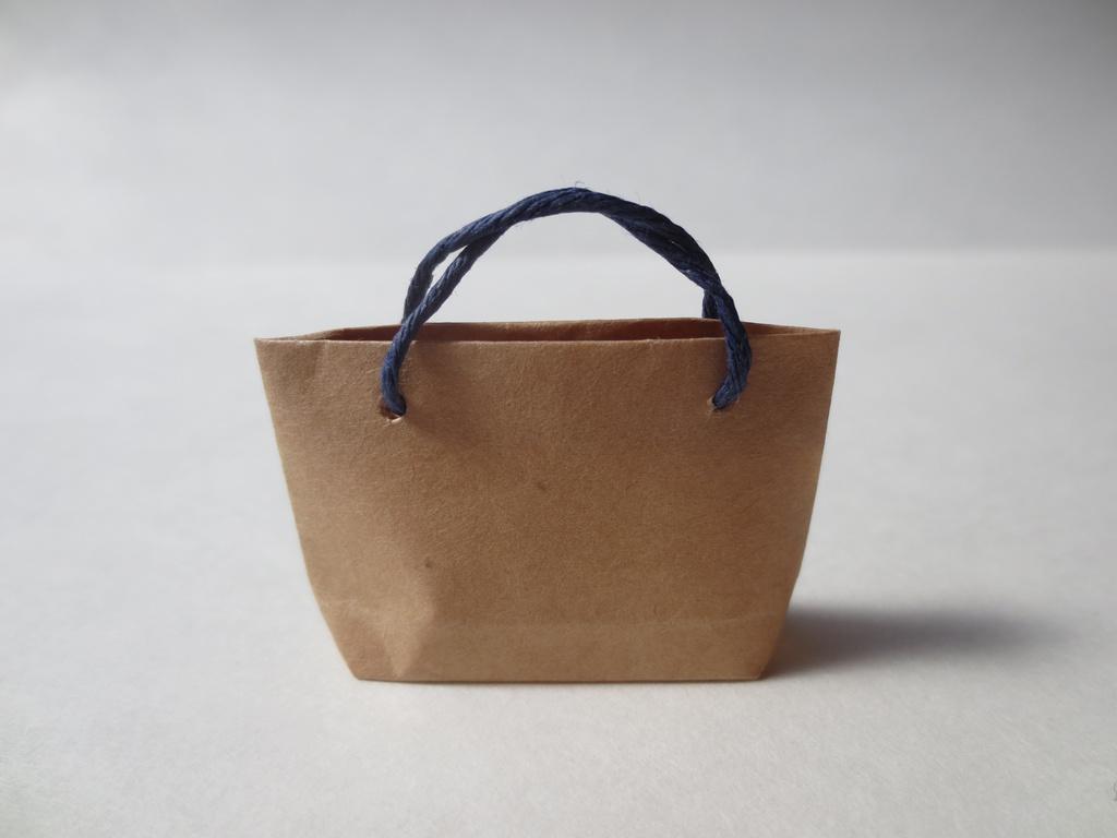 ミニチュア 紙袋