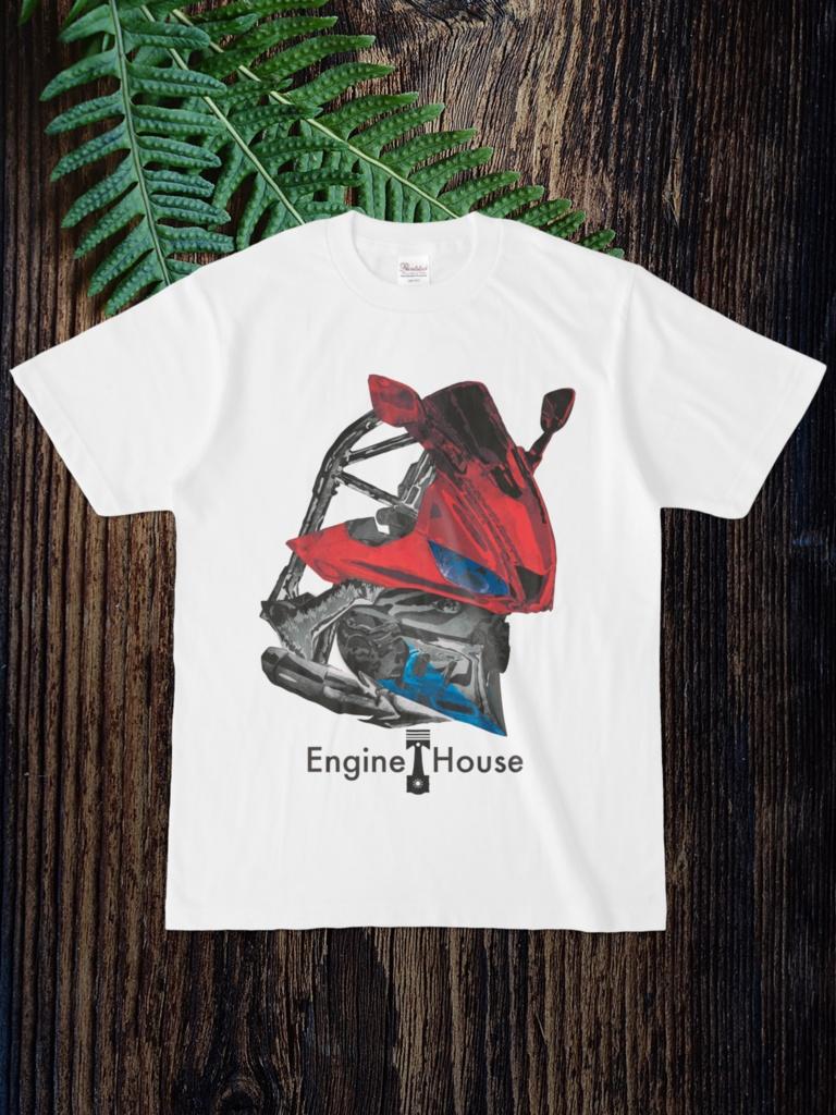 モチーフTシャツ:YZF-R25(2019〜)
