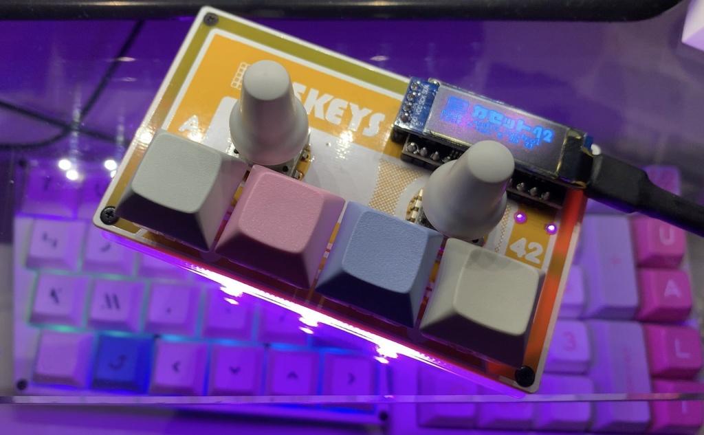 Cassette42 メディアキーパッドキット