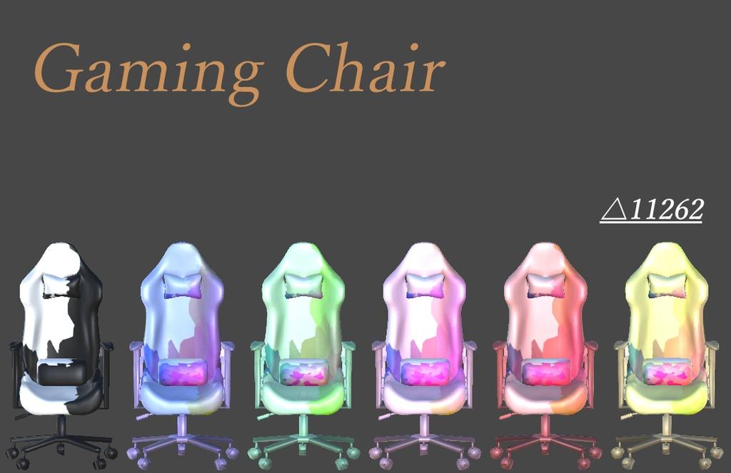 ゲーミングチェア FBX 全6色 GamingChair
