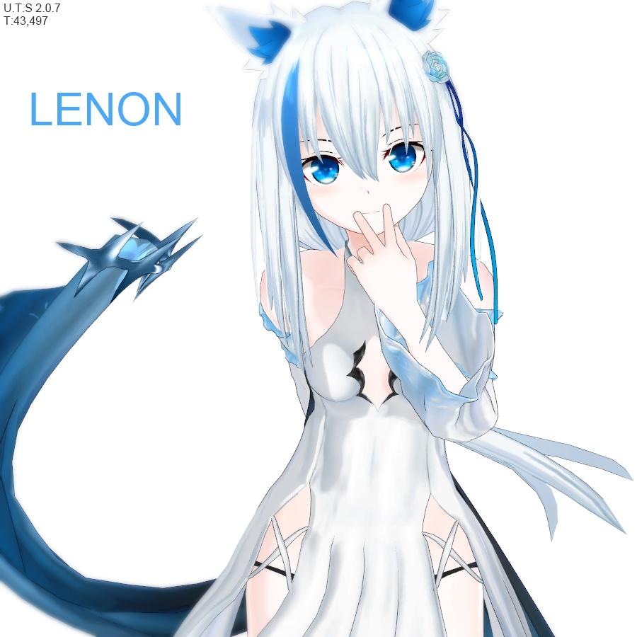 オリジナル3Dモデル(Lenon)