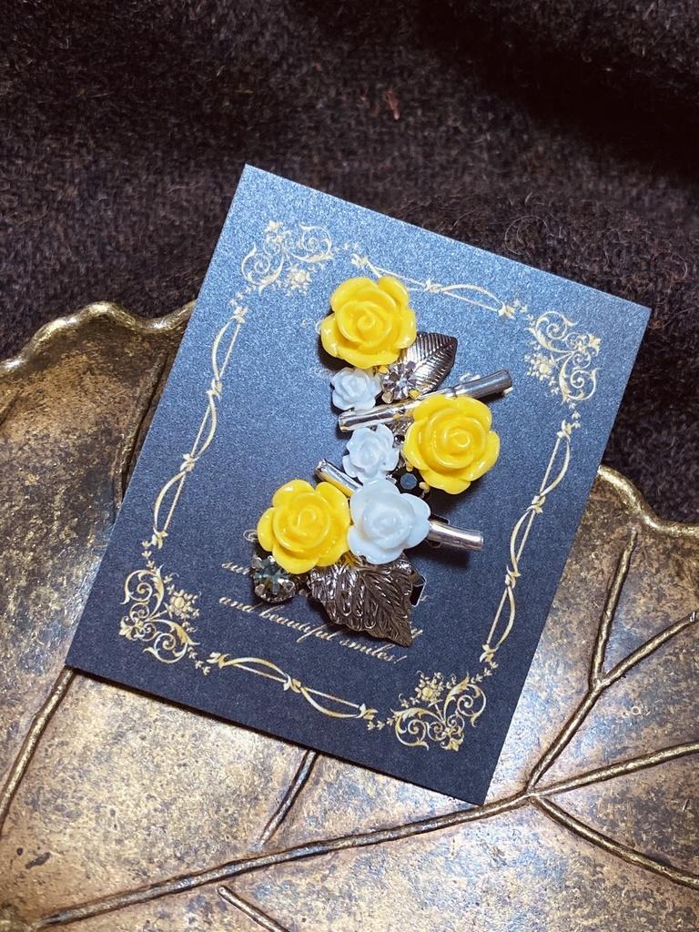 第五人格 納棺師携帯品 黄バラの骸 イメージ イヤーカフ Canopus Booth